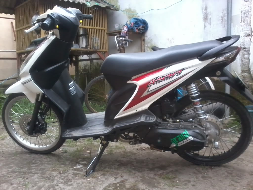 Modifikasi Honda Beat Velg 17 title=