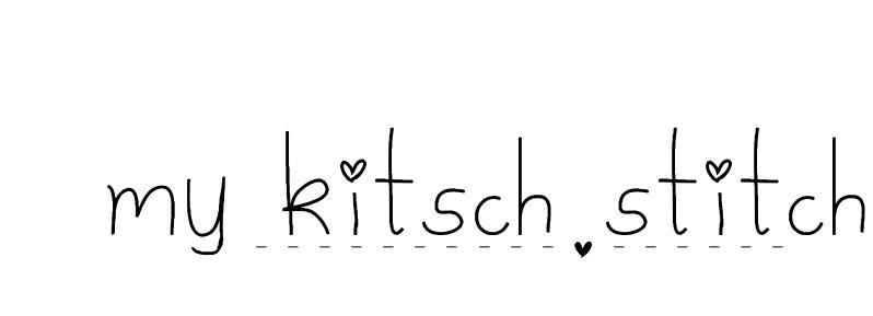 ...my kitsch stitch