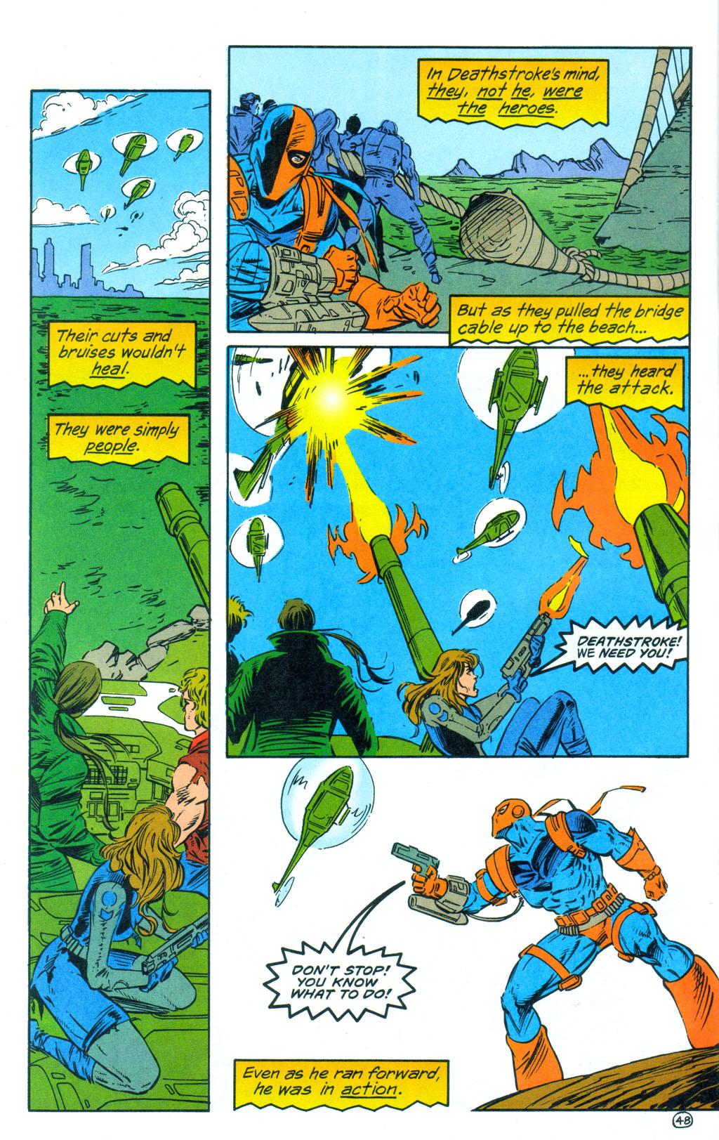 Deathstroke (1991) Annual 3 #3 - English 49