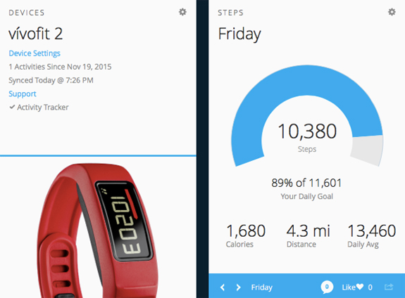 Product Review: Garmin vivofit 2 Activity Tracker