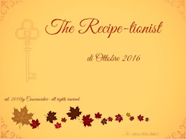 Le vostre ricette di Ottobre  2016