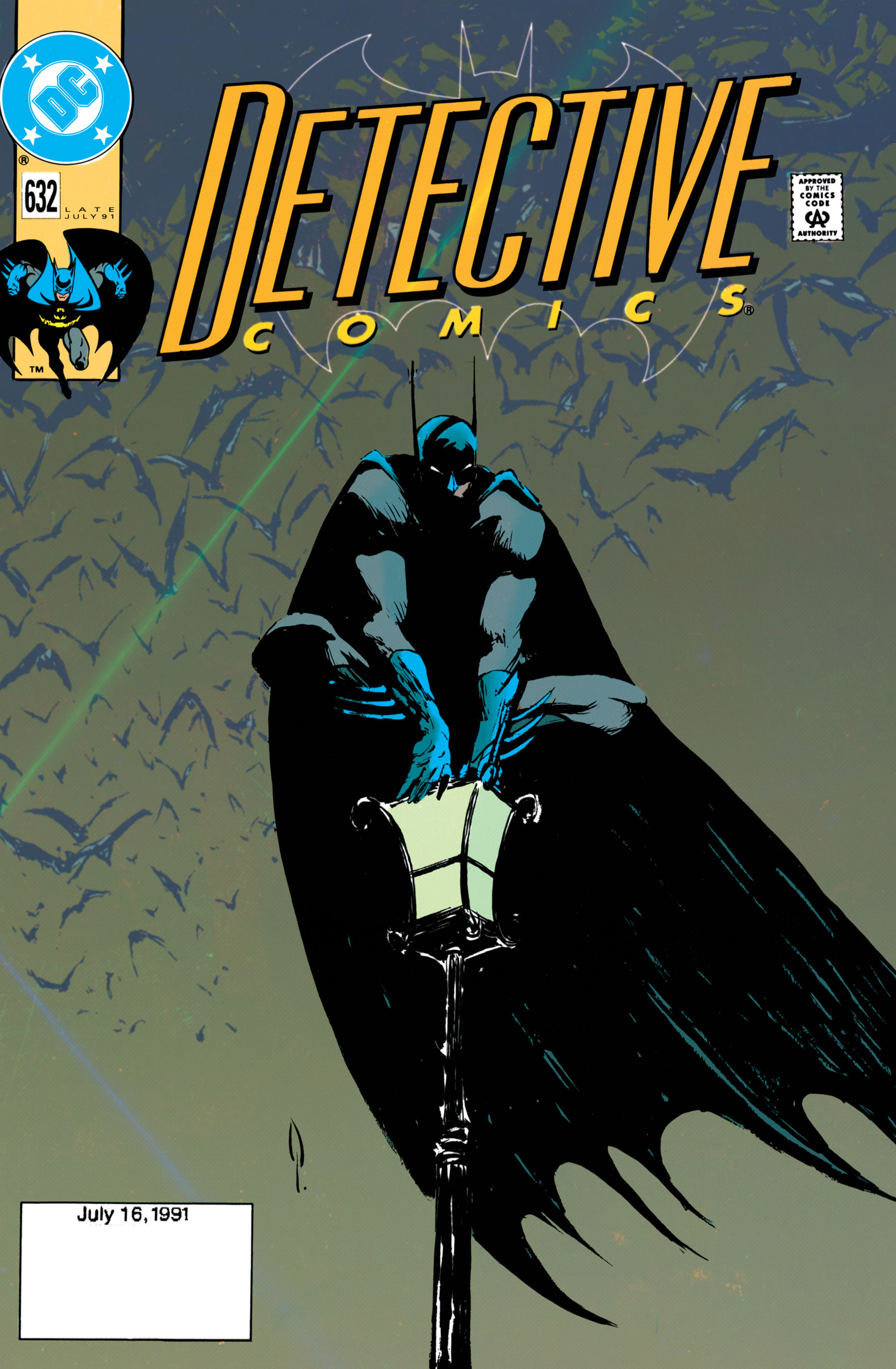 Detective Comics (1937) 632 Page 1