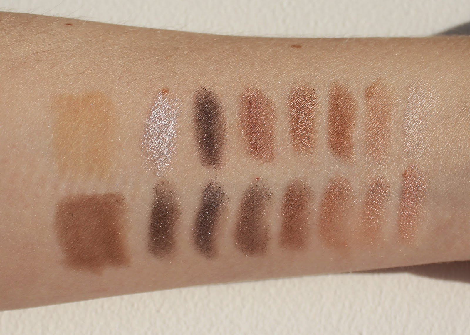 Makeup Revolution Disappear Till Tomorrow Eyeshadow Palette Swatch