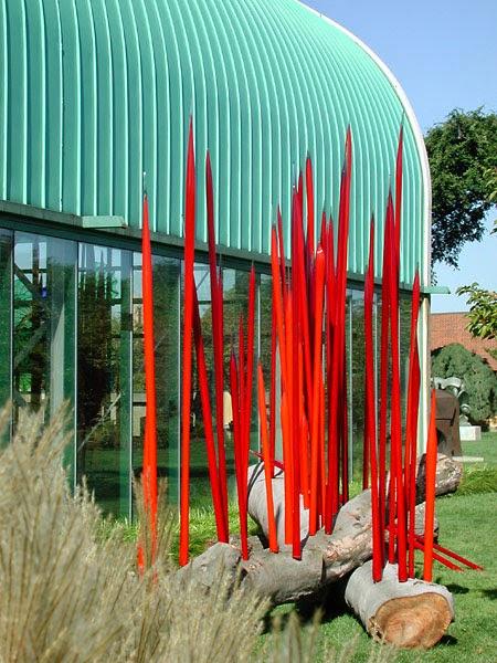 Dale Chihuly, Esculturas de vidrio soplado