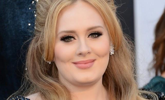 Delineado chique de Adele
