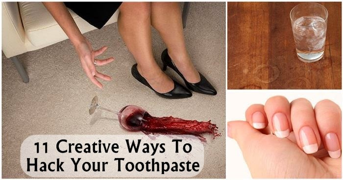 11 Creative Ways To Hack Your Toothpaste