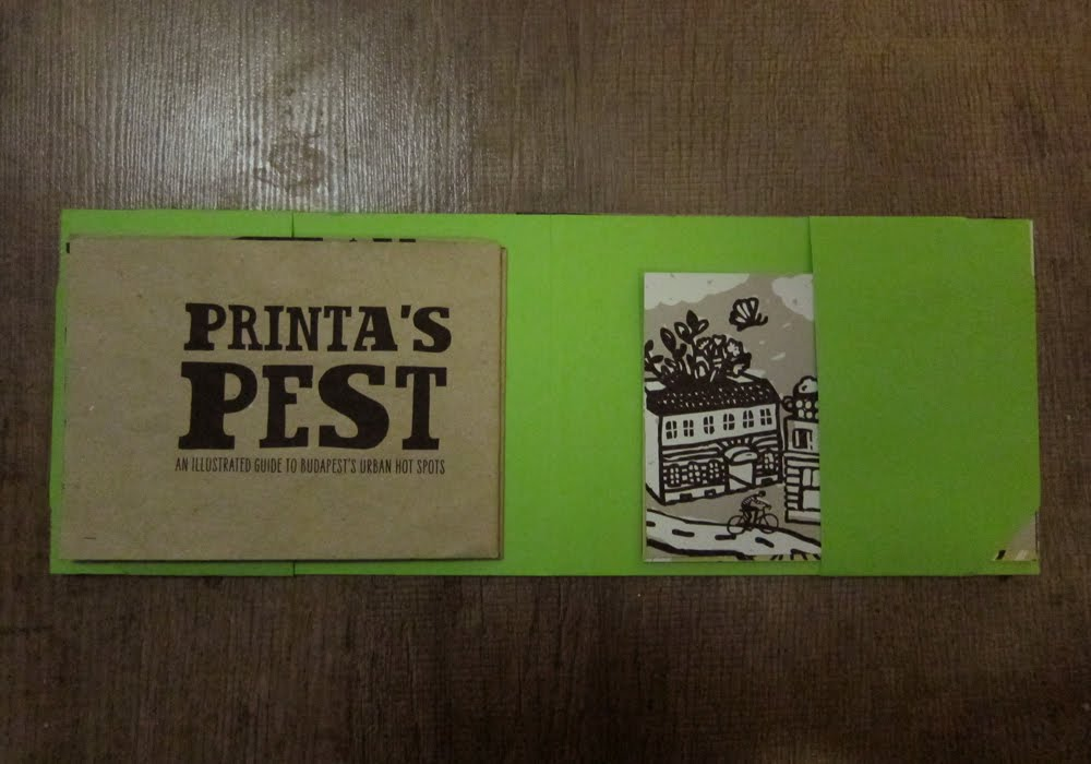 Printa's Pest, an illustrated guide to Budapest