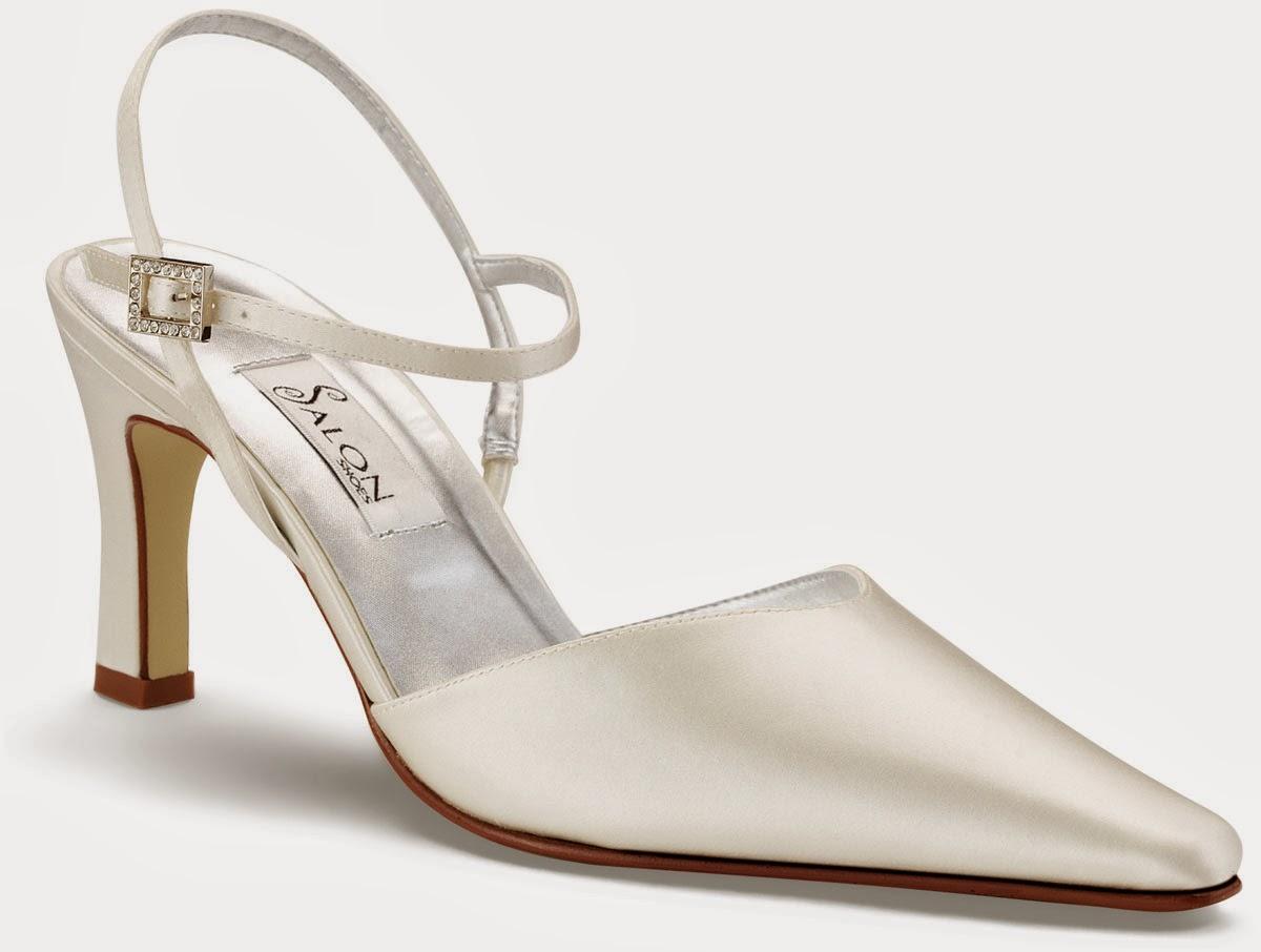Fabulosos zapatos de novia