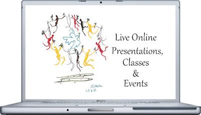 Live Online Presentations, Classes & Events