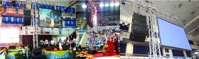 Pelancaran Bulan Bahasa DBP Stadium Indera Mulia Oct 2010