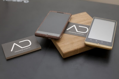 ADzero Bamboo Android Phone Design