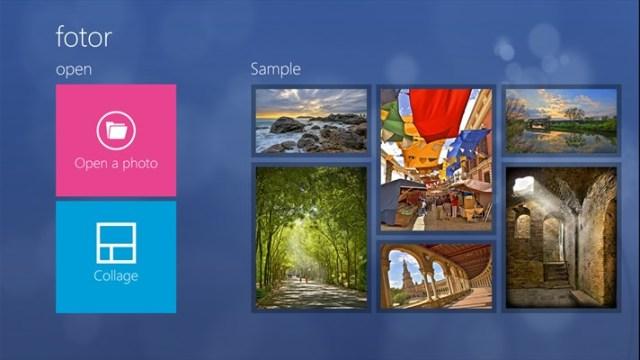 Fotor foto editor untuk windows