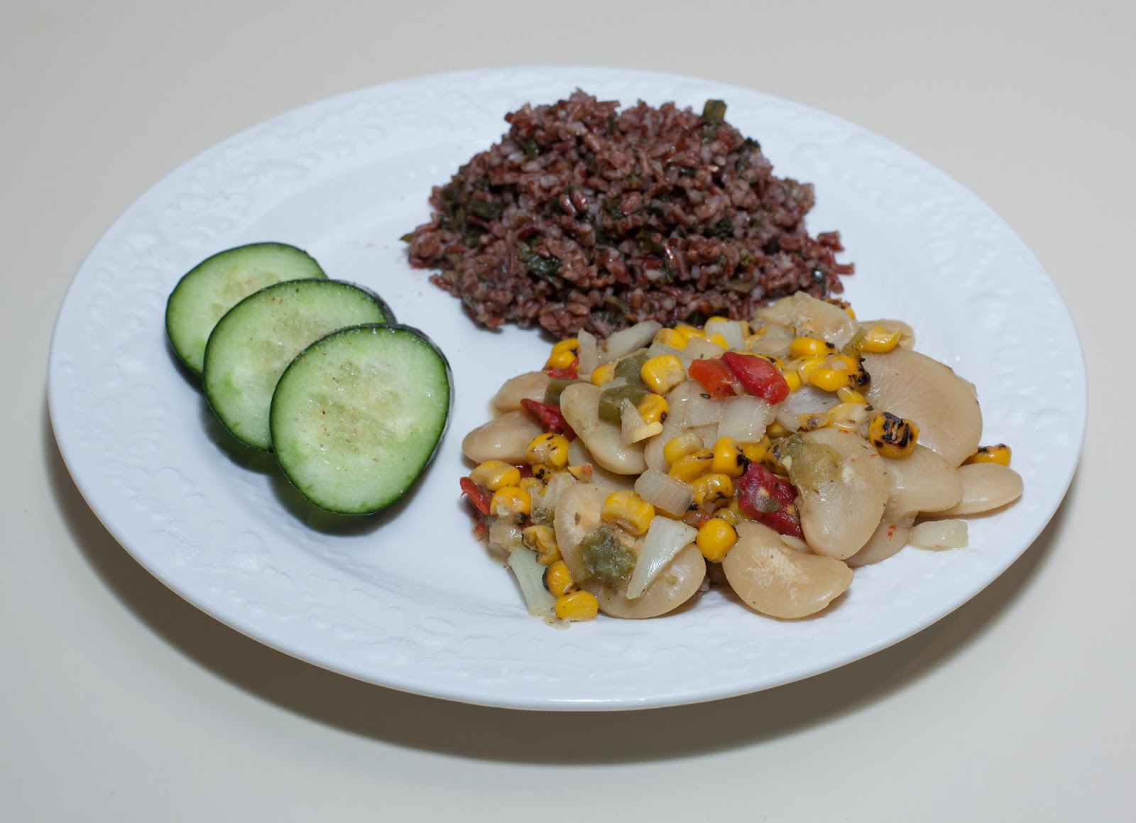 how to make peruvian rice and beans