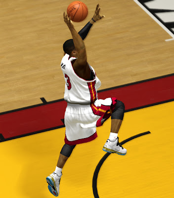 NBA 2K13 Li-Ning Way of Wade Dynasty Shoes Patch
