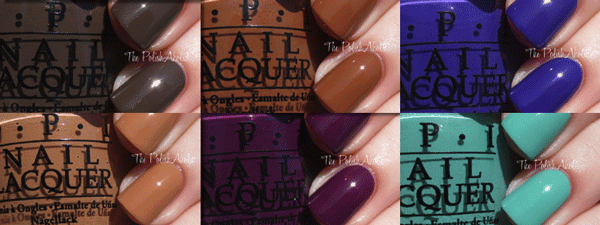 opi nordic collection 2014 - swatches2