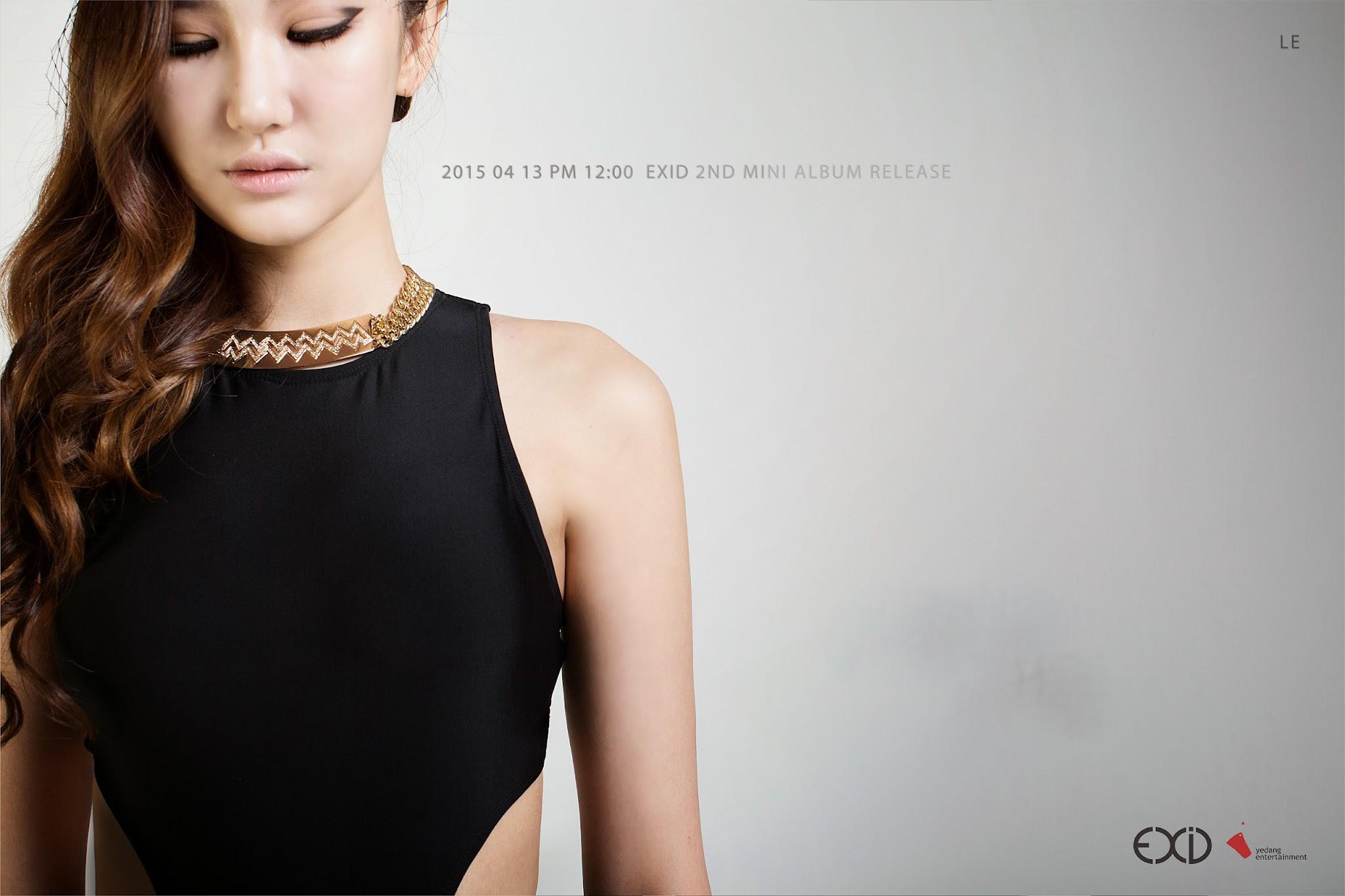 EXID LE Ah Yeah Concept