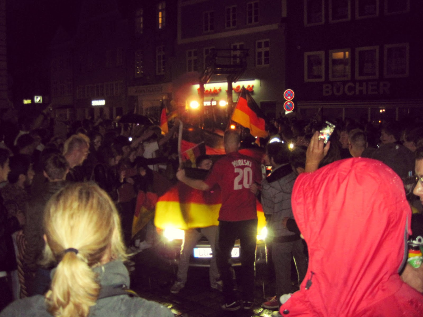 Auto Corso after World Cup Finale