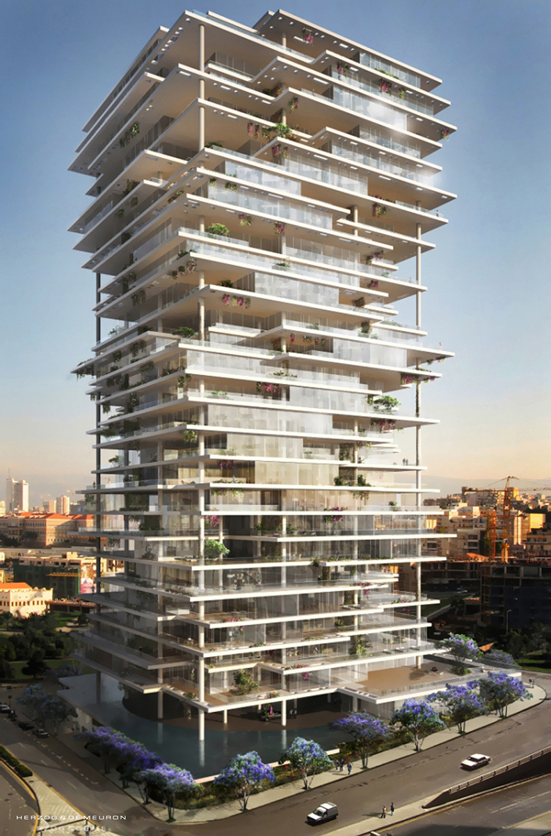 The style examiner beirut terraces by herzog de meuron for Terrace beirut