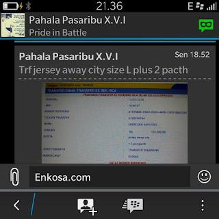 gambar screen shot testimoni toko online jersey bola paling terpercaya lokasi di jakarta