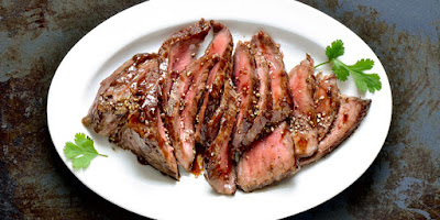 Ginger Soy Flank Steak