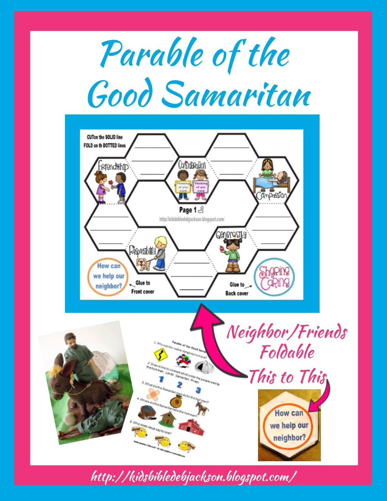 http://kidsbibledebjackson.blogspot.com/2014/10/parable-of-good-samaritan.html