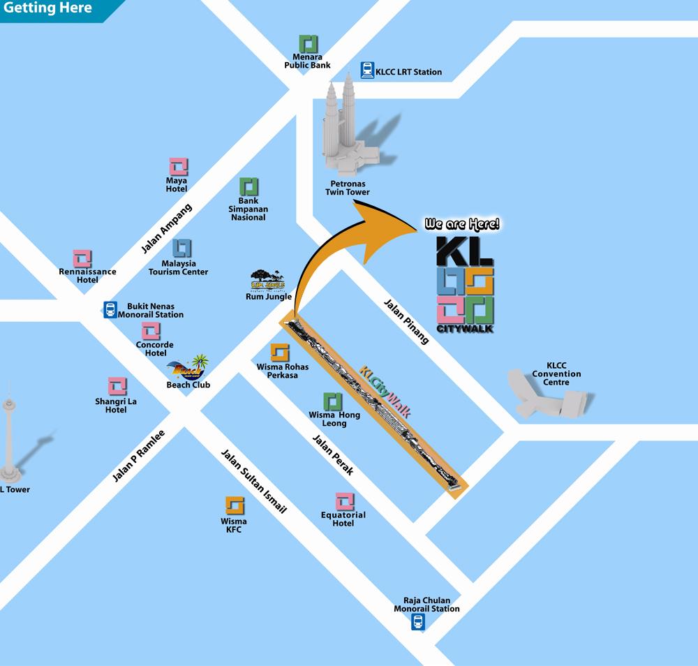 Kuala Lumpur City Walk Tourism Malaysia
