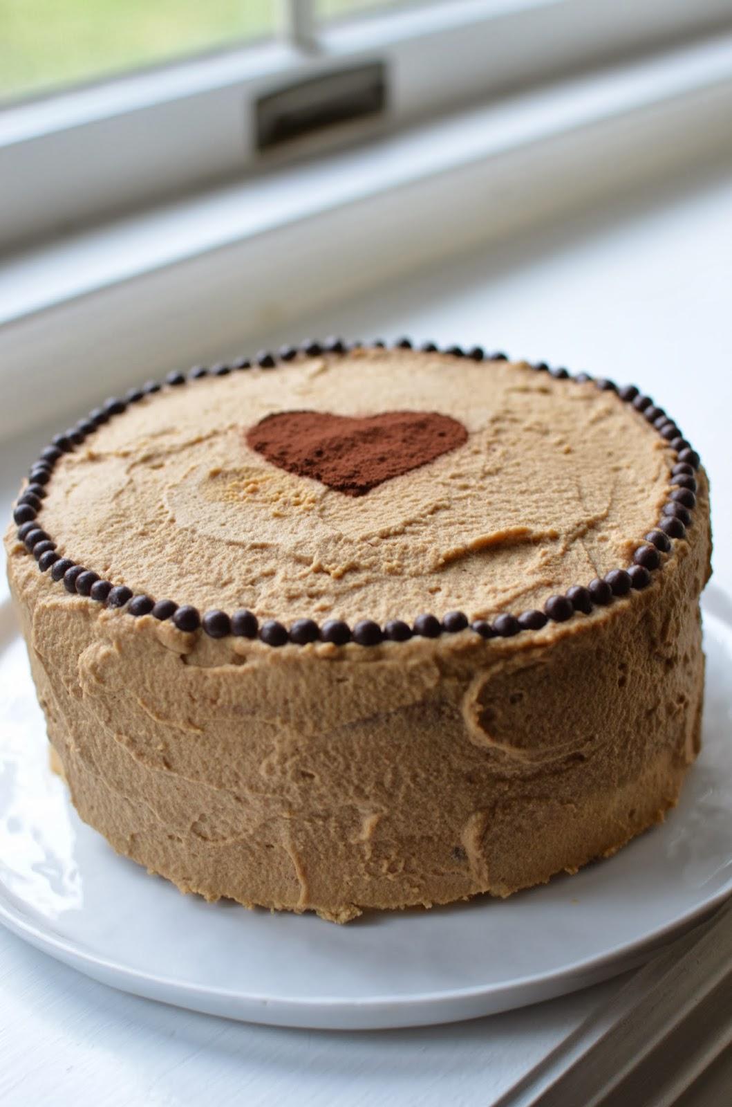Playing with Flour Tiramisu cake for a very special birthday