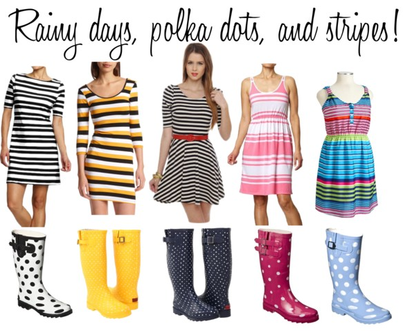 Women's Merona Zaney Polka Dot Rain Boots 37
