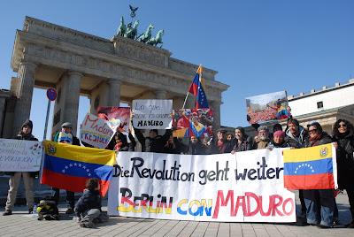 manos fuera de venezuela Berlin