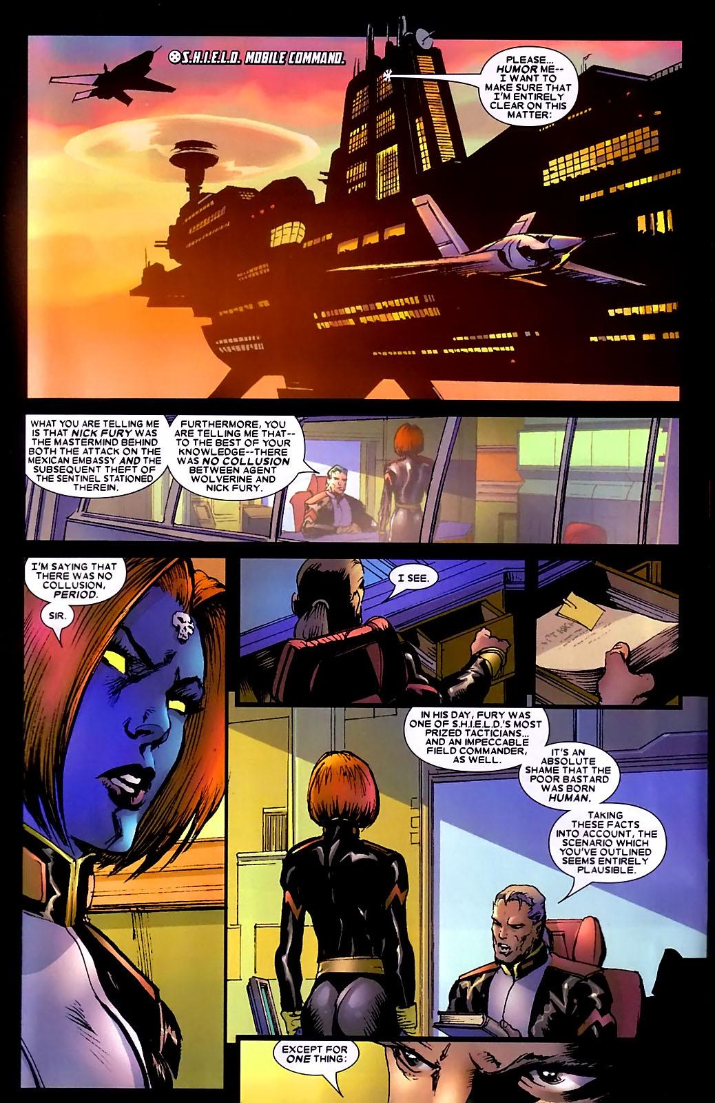 Read online Wolverine (2003) comic -  Issue #34 - 3