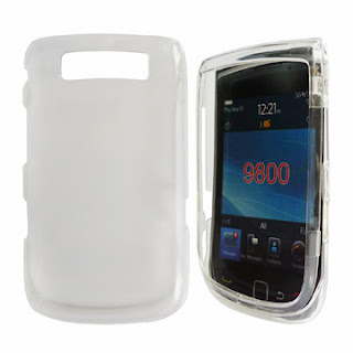 Transparent Clear Crystal Case for BlackBerry Torch 9800 9810