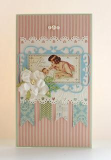 открытка для новорожденного своими руками