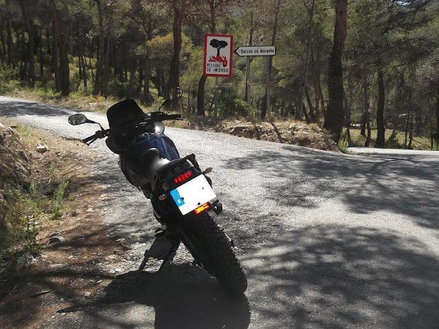 Hill ride