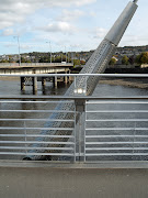 . so much stainless steel is used on this part of the bridge, .