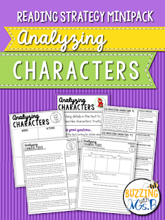 https://www.teacherspayteachers.com/Product/Analyzing-Characters-Strategy-MiniPack-2131807