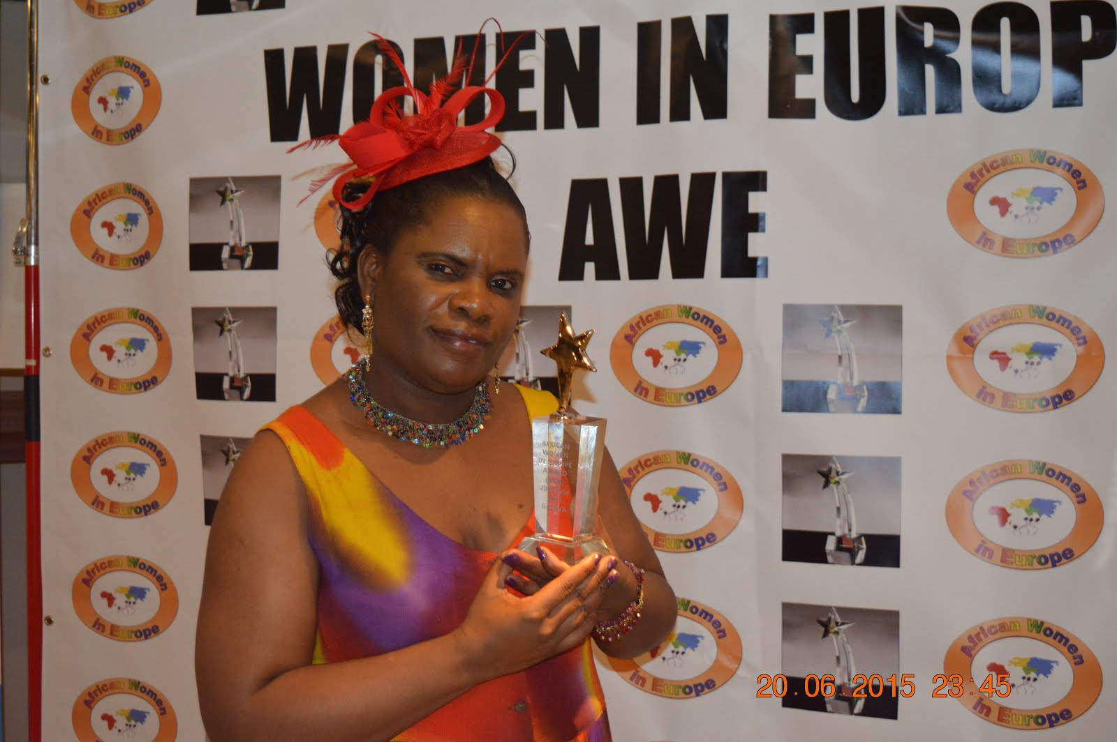 Muzvare Betty Makoni -2015 Winner African Women in Europe
