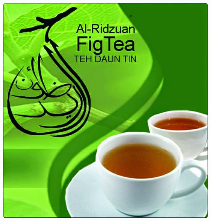 figs tea teh daun tin ridzuan
