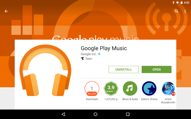Google Play Music Got cool new updates with New Personalized Experiences : Download APK