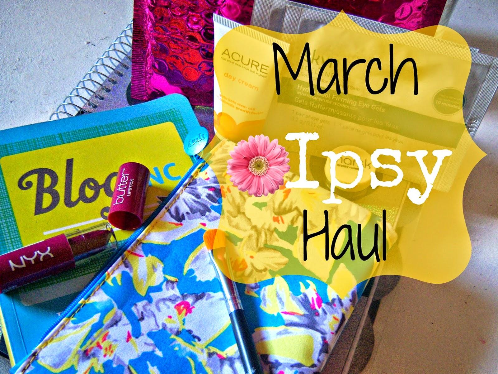 March 2015 Ipsy Haul