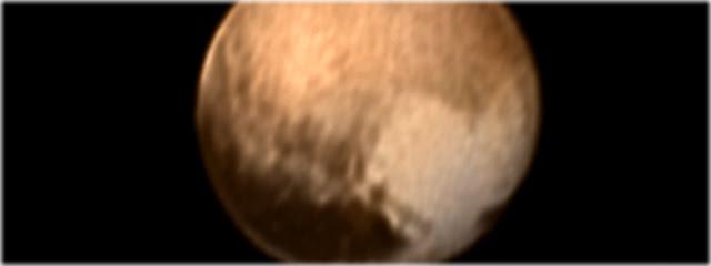 coração em Plutão - sonda New Horizons