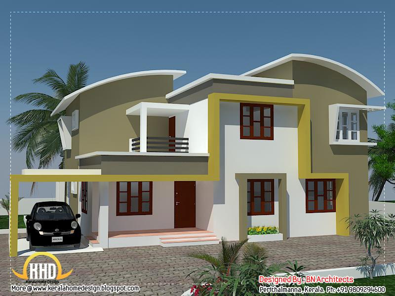 Etonnant Modern Minimalist House In Kerala   2370 Sq. Ft. (220 Sq. M