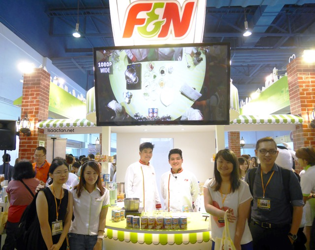 #9. F & N (Booth 222 - 229 Hall 2)