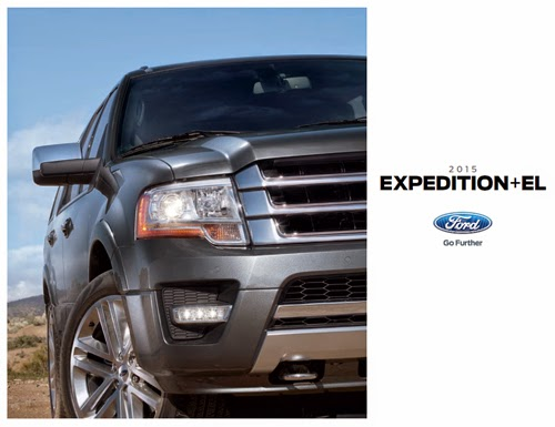 2015 Ford Expedition Brochure Cover
