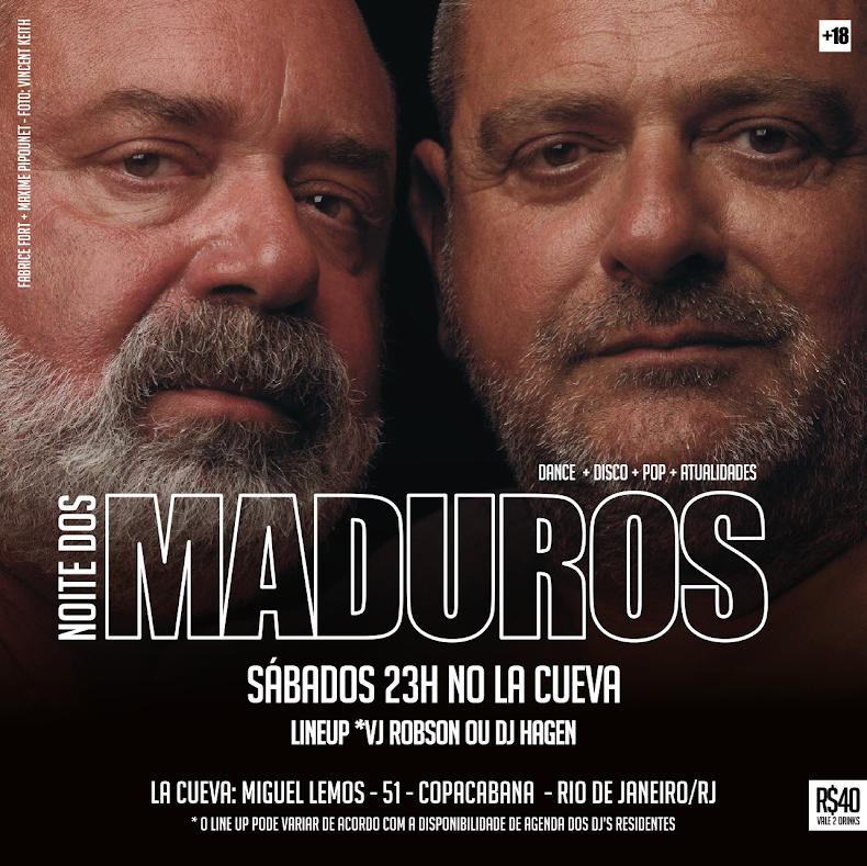 SÁBADOS - 23H - NOITE DOS MADUROS - ESPECIAL DE PÁSCOA
