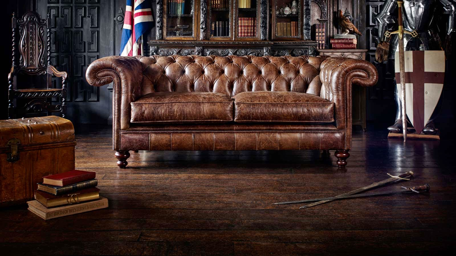 Divani Chesterfield Originali Inglesi THE ENGLISH CHESTERFIELD CO ...