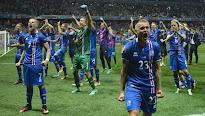 Cuartos de final La impactante celebración de Islandia tras su gesta