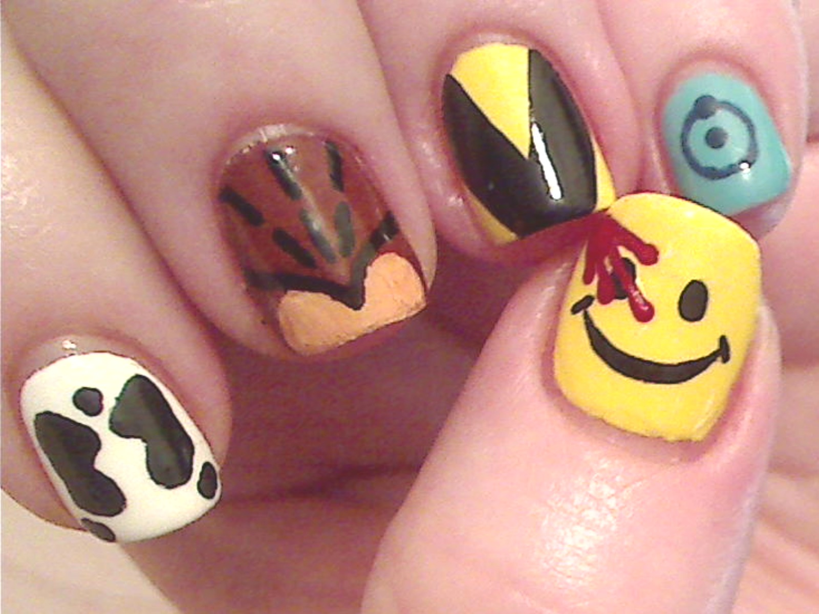 Nerdy Nail Art - The GCE