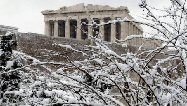 Χιονιάς θα σαρώσει τη χώρα - Στα «λευκά» και η Αττική λένε οι μετεωρολόγοι!