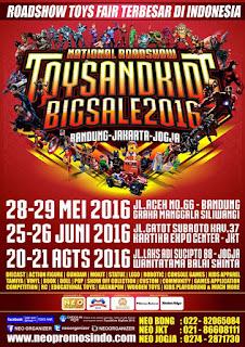 DON'T MISS IT! 20-21 Agust: YOGYAKARTA #ToysNKidsBigSale2016 @GedungWanitatama