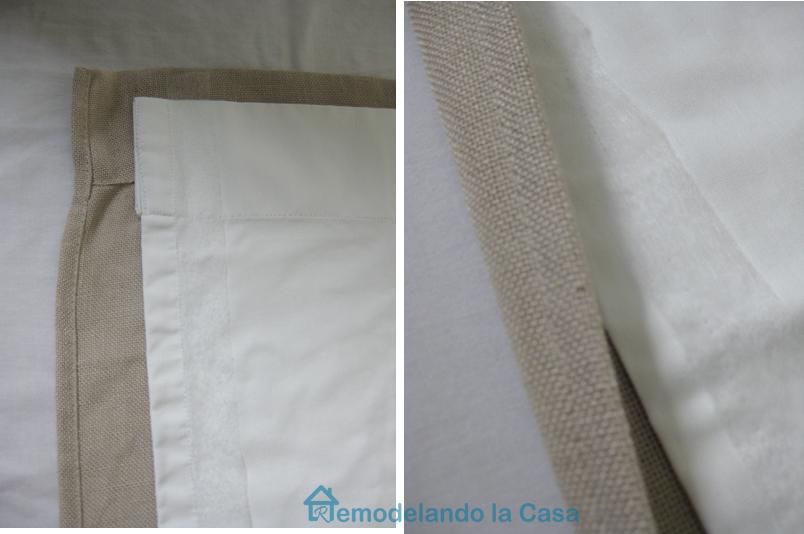 Curtains Ideas curtain liner blackout : Remodelando la Casa: How to Blackout line Store-bought Drapes - No Sew